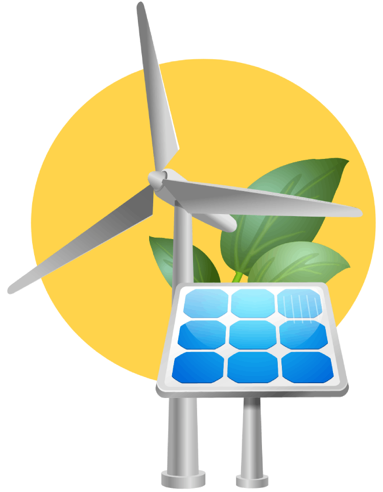 Proyectos de energías renovables automatizadas